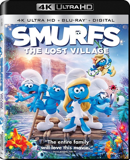Smurfs: The Lost Village 4K (Los Pitufos: La Aldea Escondida 4K) (2017) 2160p 4K UltraHD HDR BDRip 10GB mkv Dual Audio DTS-HD 5.1 ch