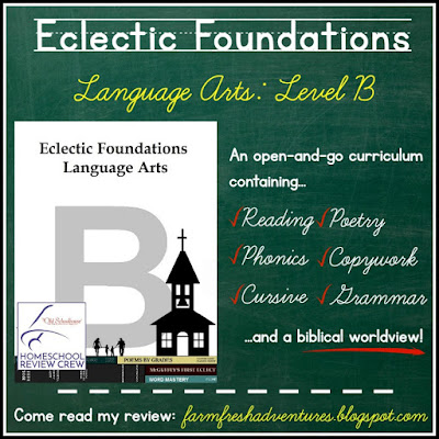 Eclectic Foundations Language Arts: Level B {Curriculum Review}