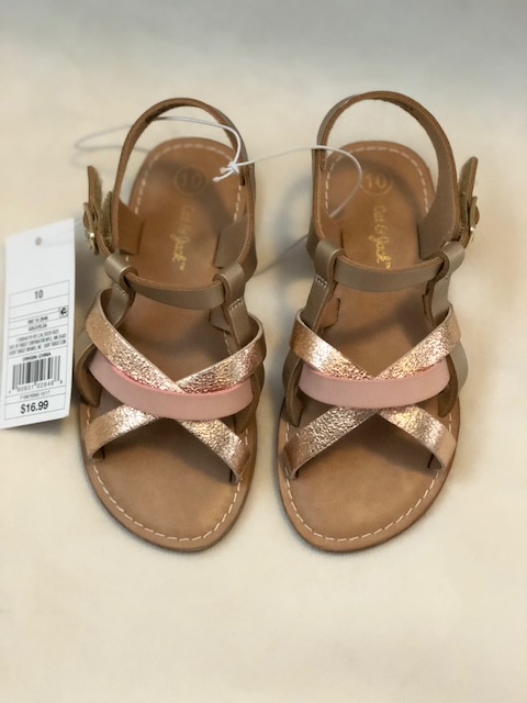 Cat & Jack Criss Cross Sandals