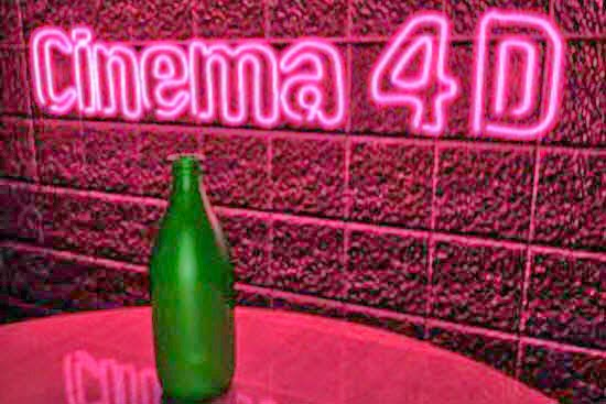 Create Neon Signs in Cinema 4D