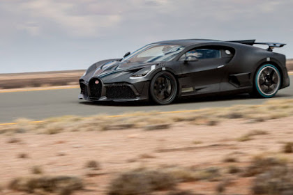 Bugatti Divo sweltering climate torment testing for its 40 anticipating clients