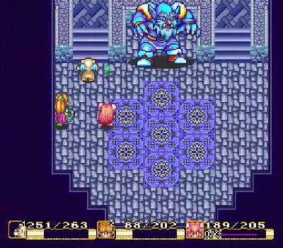 Secret of Mana - Frost Gigas
