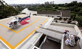 Primeiro heliponto hospitalar de Londrina está em atividade