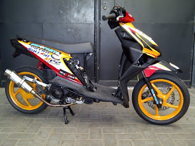 Modifikasi Beat FI 2016 Road Race Simple