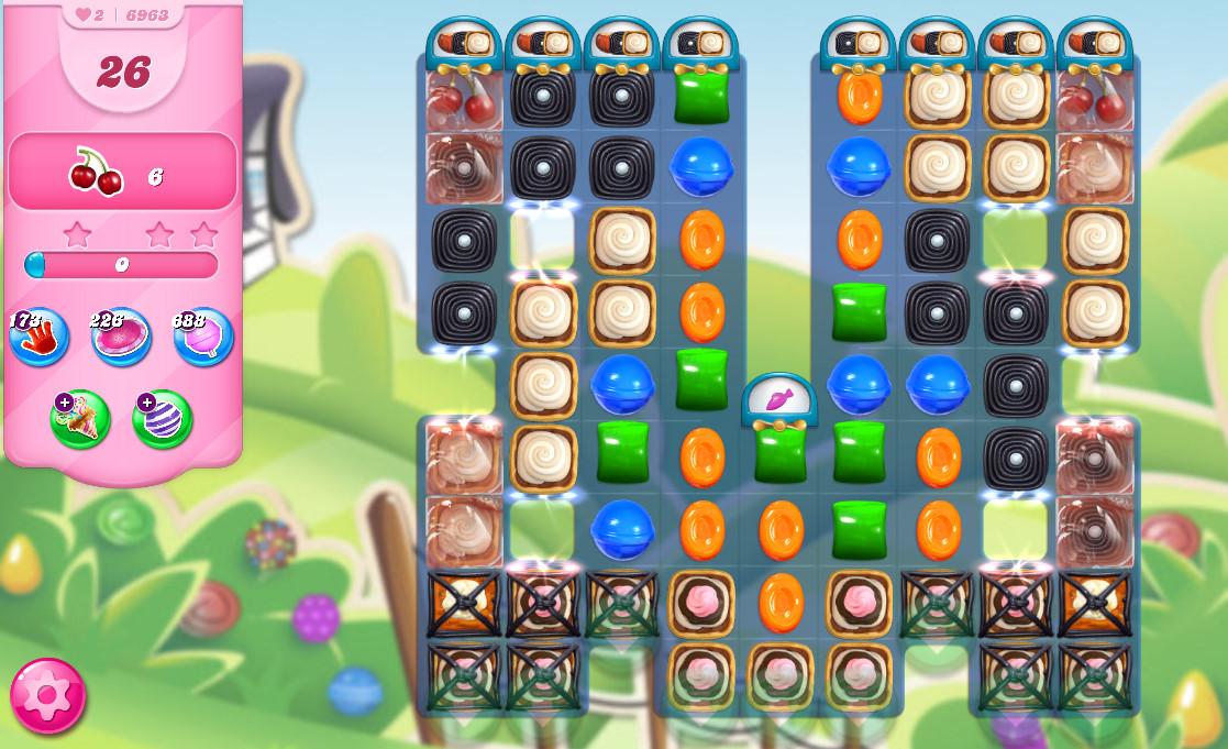 Candy Crush Saga level 6963