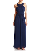 Prom Dress the Night La Femme Ruched Net Jersey Gown