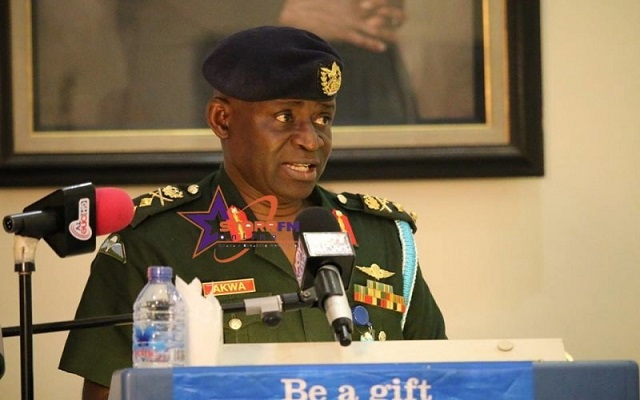 Major General Obed Asamoah Akwa to act as Chief of the Defence Staff