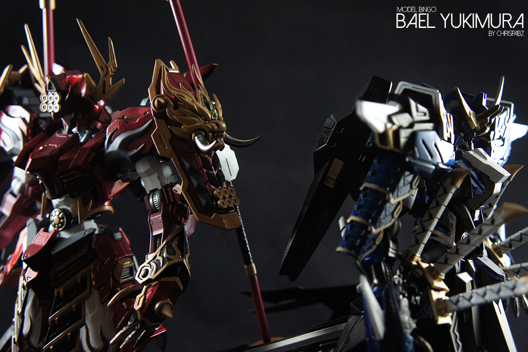 "Custom Build: FM 1/100 Gundam Bael ""Yukimura Resin Conversion Kit"" - Gundam Kits Collection News and Reviews"