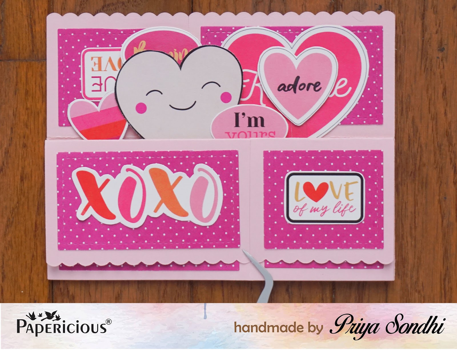Love pop up box card featuring love actually paper pack papericious however you dont need the dies to make card in a box project you can find the instructions kristyandbryce Choice Image