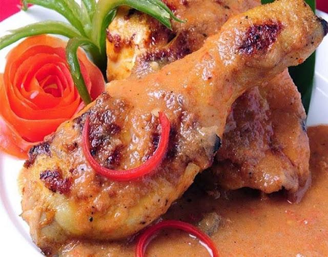 Resepi Ayam Percik Putih Kelantan Makanan Pembuka Selera