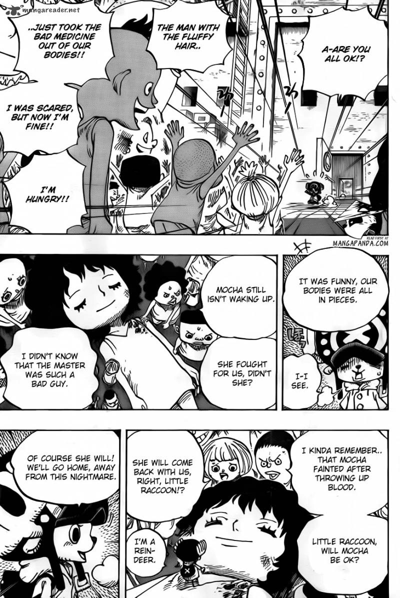 One Piece Ch 696: Matching interests