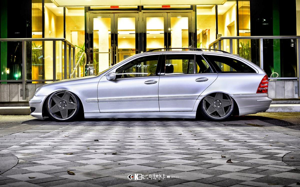 Amg G Wagon >> Mercedes-Benz S203 Wagon on K3Projekt 5SG Wheels   BENZTUNING