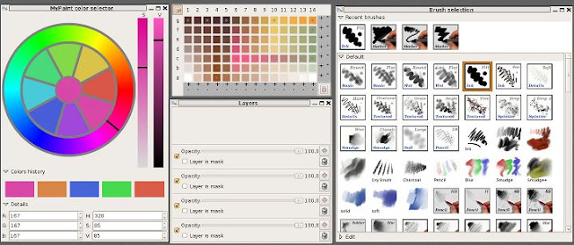 MyPaint top free software simple to use similar to microsoft paint available on windows
