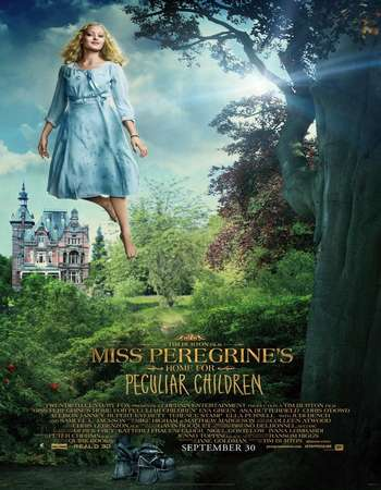 Poster Of Miss Peregrine's Home for Peculiar Children 2016 English 700MB HDCAM x264 Free Download Watch Online
