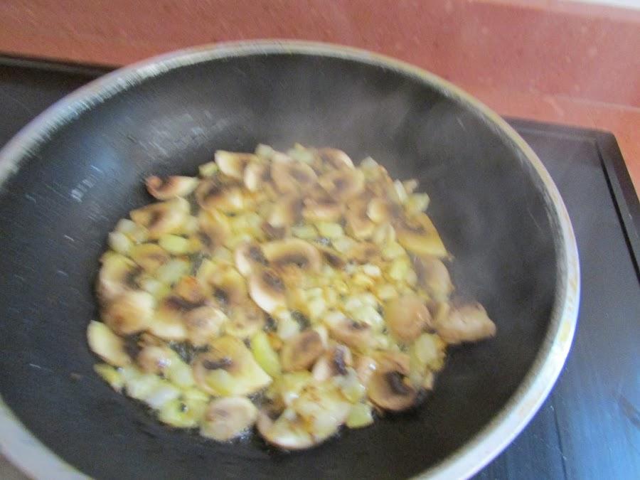 Salsa de champiñón