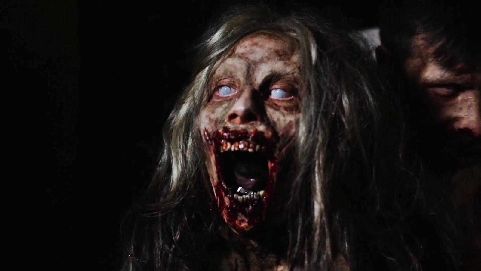 Zombie Girl Naked