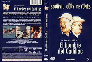 Carátula: El hombre del Cadillac (1965) Le Corniaud