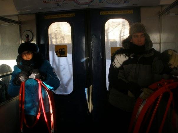 Oslo en trineo