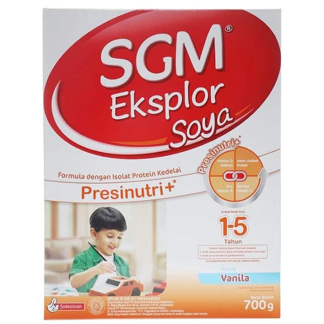 SGM Soya untuk alergi susu sapi
