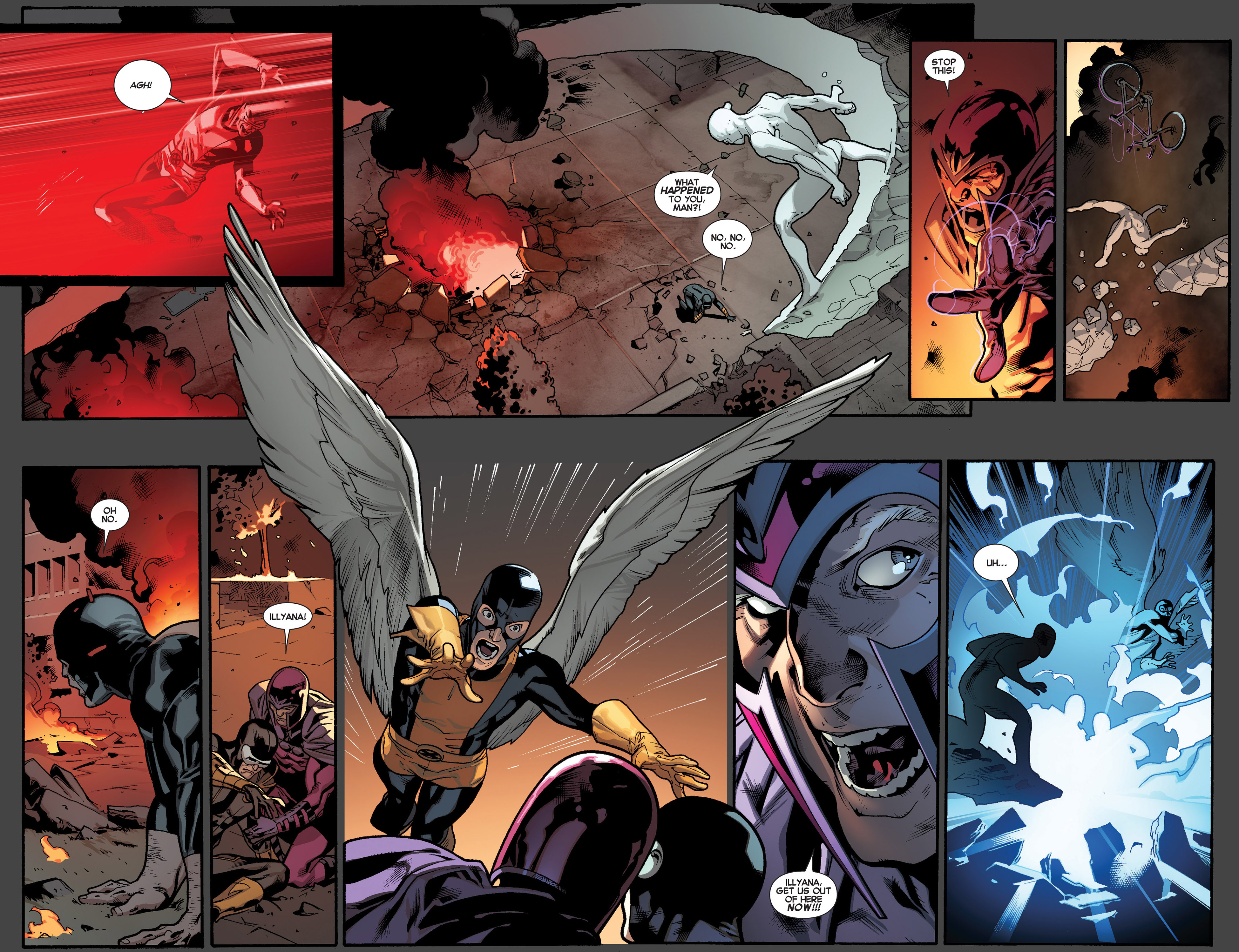 Read online All-New X-Men (2013) comic -  Issue #4 - 8
