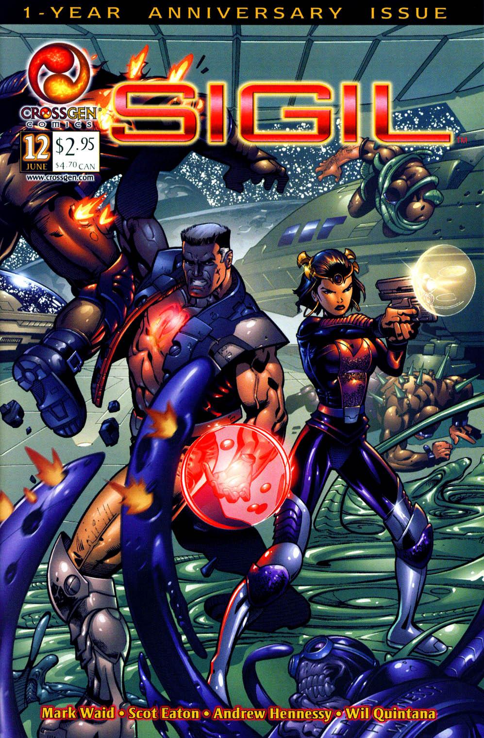 Read online Sigil (2000) comic -  Issue #12 - 3