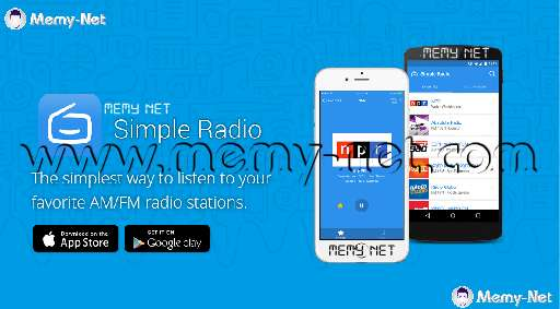 Apply Simple Radio to listen to thousands of radio stations for Android and iPhone