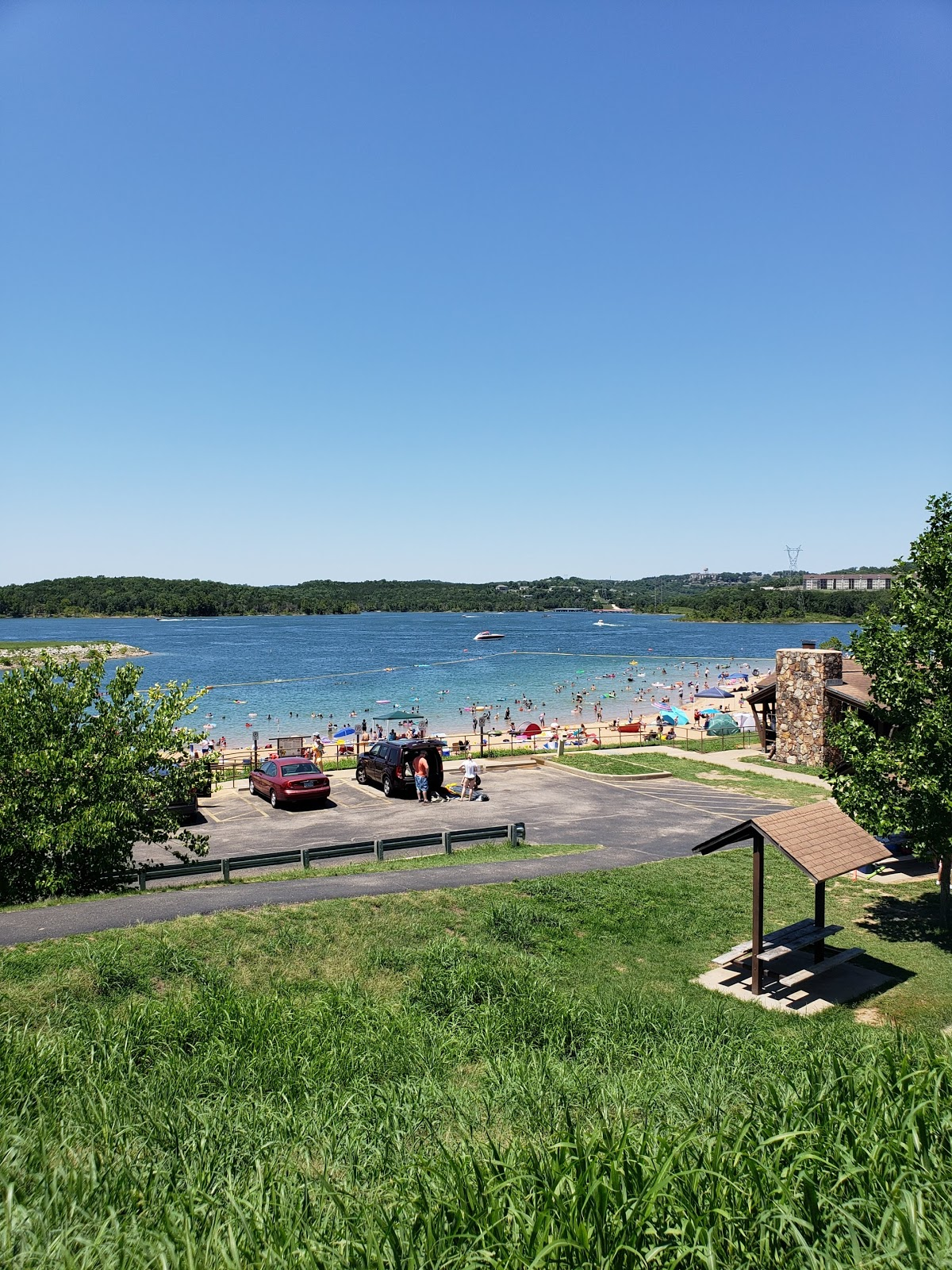 Moonshine Beach, Table Rock Lake, Branson
