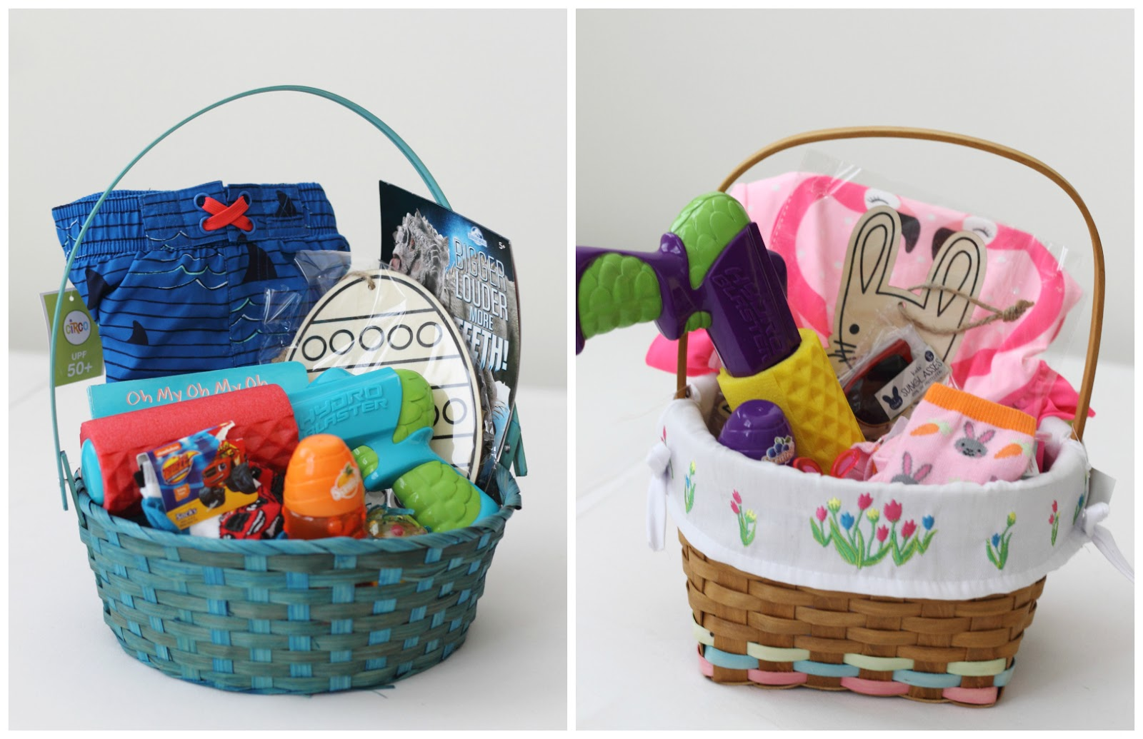 Make it cozee pool fun easter baskets i still love this list of 101 kids easter basket ideas and ive used a lot of these suggestions this year i did all the shopping at target negle Gallery