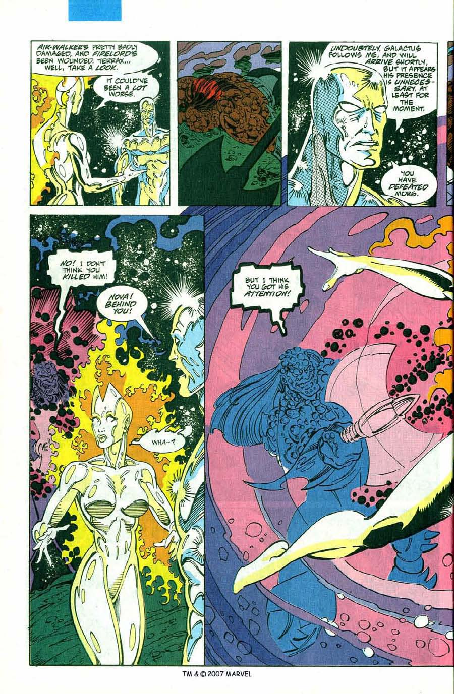 Read online Silver Surfer (1987) comic -  Issue #75 - 34