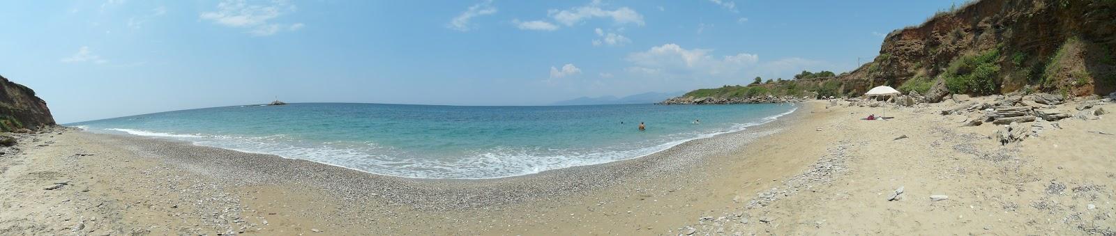 Faros beach pláž Řecko