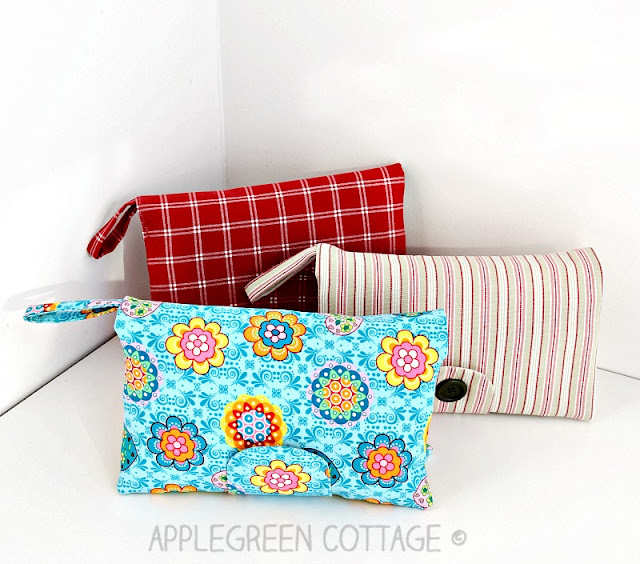 ​This cute and super convenient DIAPER CLUTCH sewing pattern is the perfect handmade gift every new mom would love to have. Also, makes an excellent baby shower present. Totally adjustable: one pattern, many different options! Check it out!