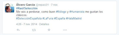 Twitter - @repaci31 - Raúl - el 7 del Real Madrid - #RaúlSelección - #RaúlMadrid - España - Ganador de la 7ª, la 8ª y la 9ª Copa de Europa - Schalke - Al-Sadd - New York Cosmos