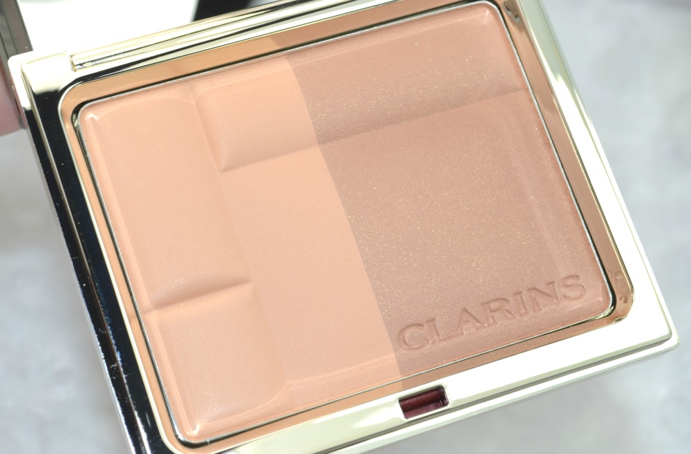 Clarins Mineral Bronzing Duo Compact Review and Swatches
