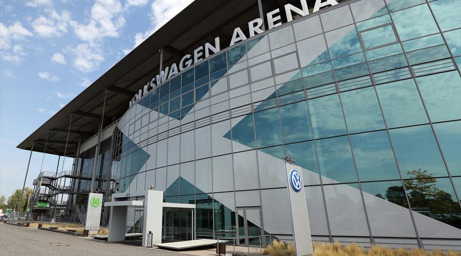 philips led volkswagen arena wolfsburg