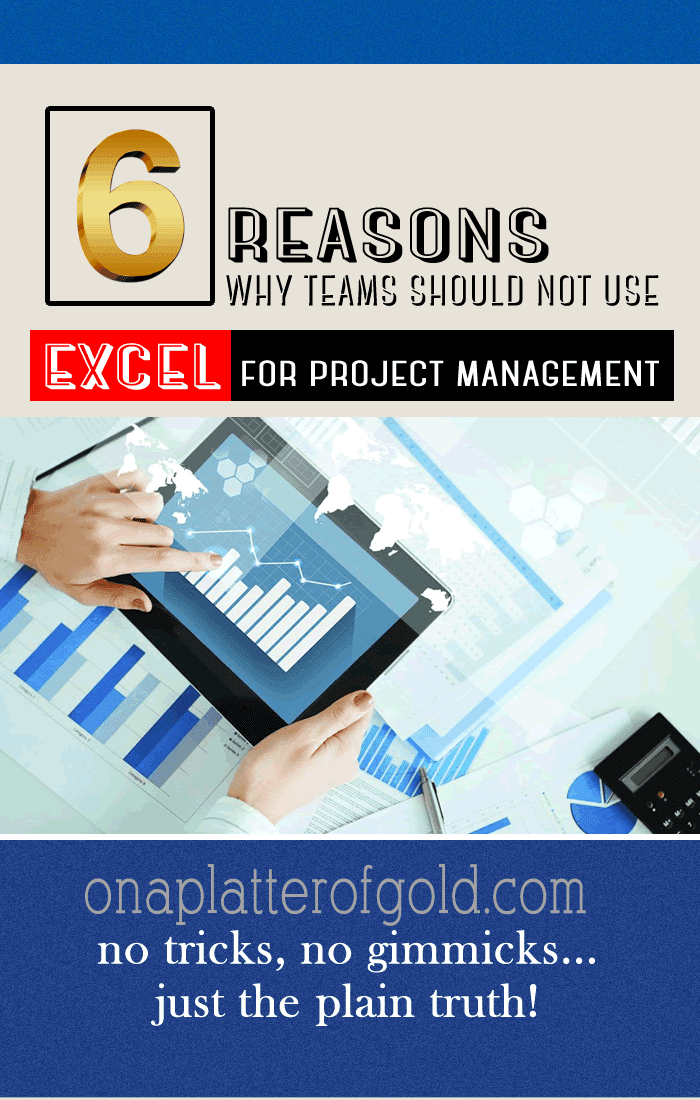 6 INDISPUTABLE Reasons Why Teams Shouldn't Use Excel For Project Planning