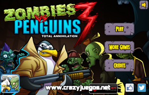 Jugar Zombies vs Penguins 3