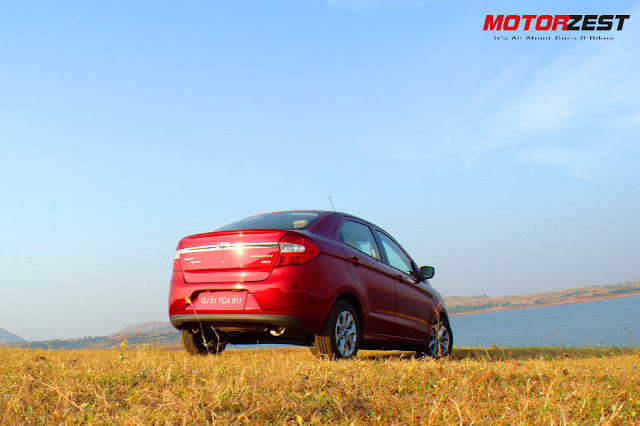 Ford Figo Aspire India Rear