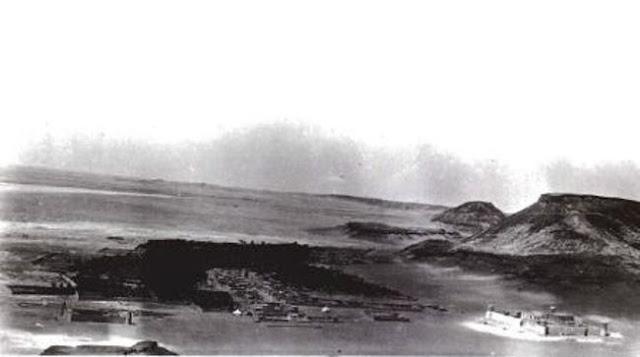 قصر كاف الذي بني لصد الهجوم العثماني على منطقة الجوف شمال شبه الجزيرة العربية 1922م