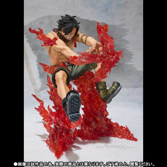 FIGURA PORTGAS D. ACE Battle Ver. Juujika Figuarts ZERO ONE PIECE