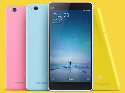 Xiaomi Mi 4c Spesifications - LAUNCH Announced 2015, September DISPLAY Type IPS LCD capacitive touchscreen, 16M colors Size 5.0 inches (~71.7% screen-to-body ratio) Resolution 1080 x 1920 pixels (~441 ppi pixel density) Multitouch Yes  - MIUI 7.0 BODY Dimensions 138.1 x 69.6 x 7.8 mm (5.44 x 2.74 x 0.31 in) Weight 132 g (4.66 oz) SIM Dual SIM PLATFORM OS Android OS, v5.1.1 (Lollipop) CPU Quad-core 1.44 GHz Cortex-A53 & dual-core 1.82 GHz Cortex-A57 Chipset Qualcomm MSM8992 Snapdragon 808 GPU Adreno 418 MEMORY Card slot No Internal 16 GB, 2 GB RAM 32 GB, 3 GB RAM CAMERA Primary 13 MP, f/2.0, 24mm, phase detection autofocus, dual-LED (dual tone) flash, check quality Secondary 5 MP, f/2.0, 1080p Features Geo-tagging, touch focus, face/smile detection, panorama, HDR Video 1080p@30fps, check quality NETWORK Technology GSM / HSPA / LTE 2G bands GSM 850 / 900 / 1800 / 1900 - SIM 1 & SIM 2 3G bands HSDPA 850 / 900 / 1900 / 2100  TD-SCDMA 4G bands LTE band 1(2100), 3(1800), 7(2600), 38(2600), 39(1900), 40(2300), 41(2500) Speed HSPA, LTE Cat4 150/50 Mbps GPRS Yes EDGE Yes COMMS WLAN Wi-Fi 802.11 a/b/g/n/ac, dual-band, WiFi Direct, hotspot Infrared Port Yes GPS Yes, with A-GPS, GLONASS, BDS USB Type-C 1.0 reversible connector Radio Stereo FM radio Bluetooth v4.1, A2DP FEATURES Sensors Sensors Accelerometer, gyro, proximity, compass Messaging SMS(threaded view), MMS, Email, Push Mail, IM Browser HTML5 Java No SOUND Alert types Vibration; MP3, WAV ringtones Loudspeaker Yes 3.5mm jack Yes BATTERY  Non-removable Li-Ion 3080 mAh battery Stand-by  Talk time  Music play  TESTS Performance Basemark OS II: 1464 / Basemark OS II 2.0: 1233 Basemark X: 12096 Display Contrast ratio: 1609 (nominal), 2.574(sunlight) Camera Photo / Video Loudspeaker Voice 73dB / Noise 66dB / Ring 77dB Audio Quality Noise -94.7dB / Crosstalk -95.3dB Battery Life Endurance rating 52h MISC Colors White, grey, pink, yellow, blue  - Fast battery charging: 40% in 60 min (Quick Charge 2.0) - Active noise cancellation with dedicated mic - XviD/DivX/MP4/H.264 player - MP3/WAV/eAAC+/FLAC player - Photo/video editor - Document viewer