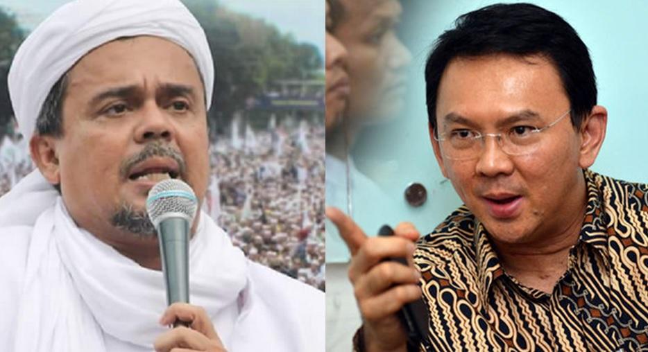 Habib Rizieq vs Ahok