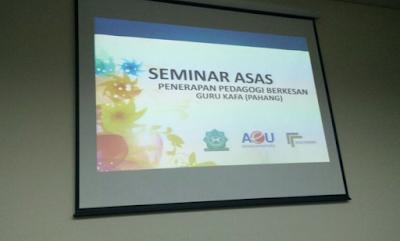 Gambar Sekitar Program Peningkatan Tahap Akademik Guru KAFA Malaysia