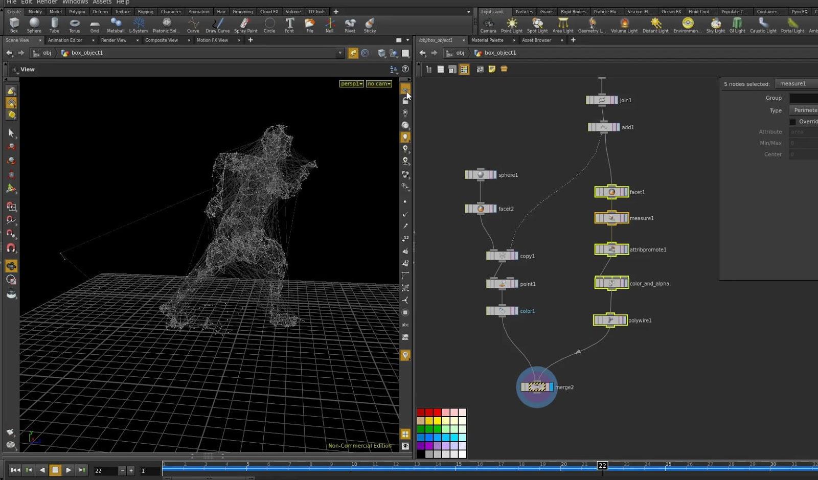 Creating abstract wire plexus effect in houdini cg for Programma per disegnare le planimetrie gratuitamente