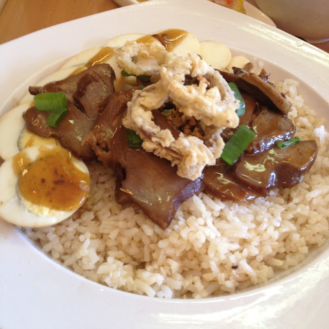 Lengua asado rice toppings at Chix Savour Restaurant