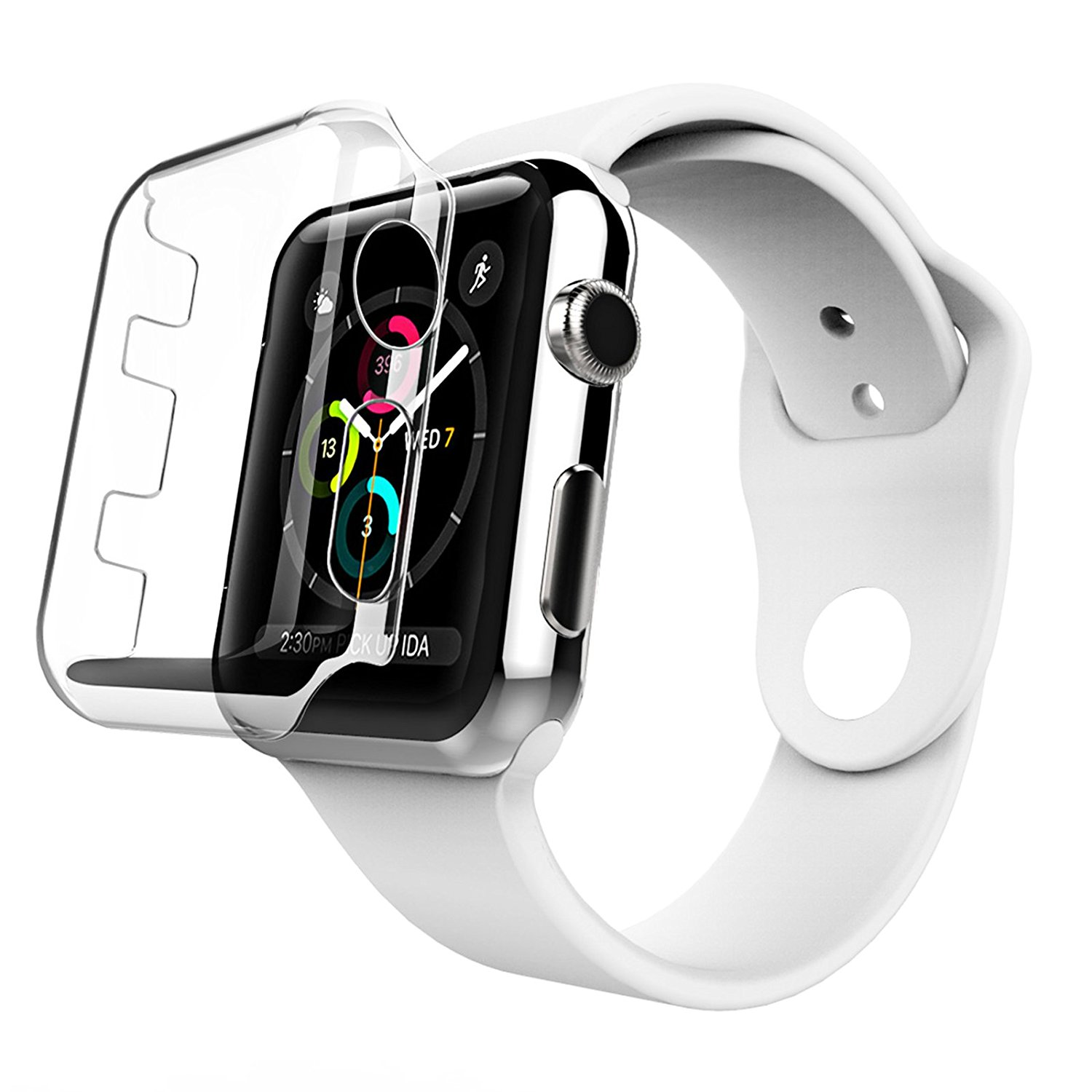 Askuncledave Limited Black Xl Apple Watch Sport Band 160mm To 245mm Series 2 42mm Steel W Buy This Even If It States Two Only Stainless 1 Is Slightly Bigger Than The Aluminum