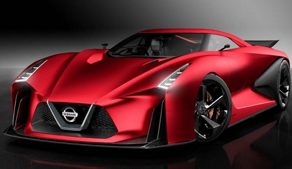 Nissan GT-R Concept Fire Knight