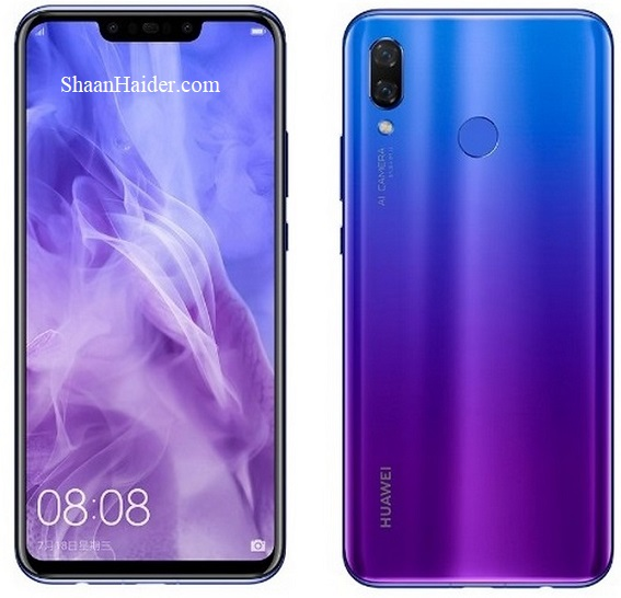 Huawei Nova 3 : Full Hardware Specs, Features, Prices and Availability