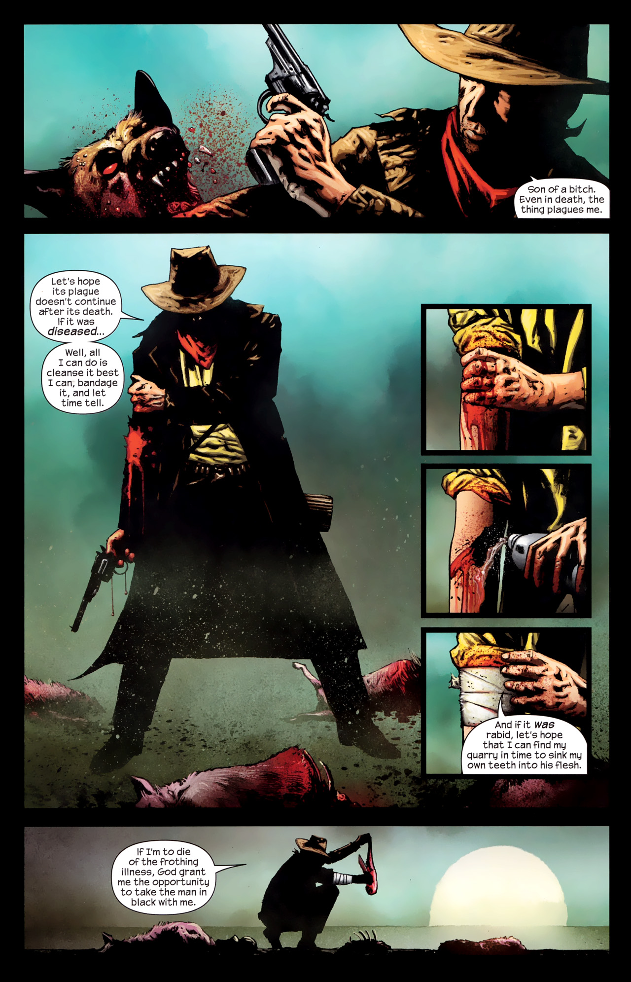 Read online Dark Tower: The Gunslinger - The Way Station comic -  Issue #1 - 15
