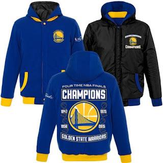 Golden St. Warriors NBA Champions Jacket
