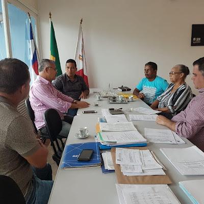 Alagoinhas: Vereador Luciano Sérgio se reúne com secretários de Agricultura e Educação e apresenta demandas dos moradores de Milagres